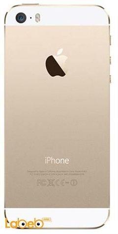 موبايل ايفون 5 ابل - 16 جيجابايت - 4 انش - لون ذهبي - A1429