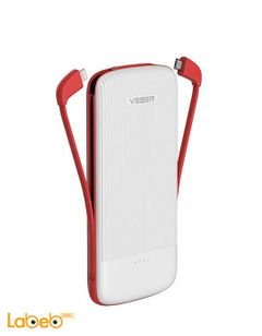 Veger power bank - 25000mAh - white color - V22