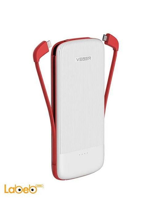 Veger power bank white V22