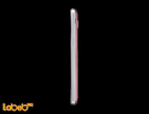 side Galaxy grand prime+ smartphone