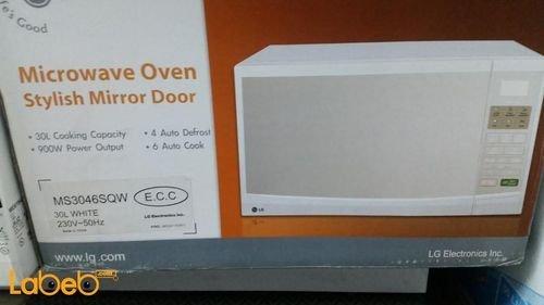 Microwave oven 900 Watt 30Liters MS3046SQW model