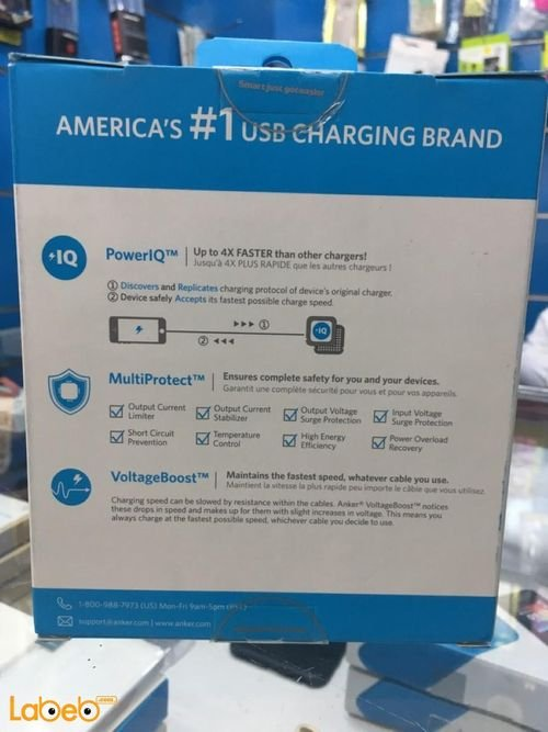 specifications Anker USB Charging HUB 5 ports