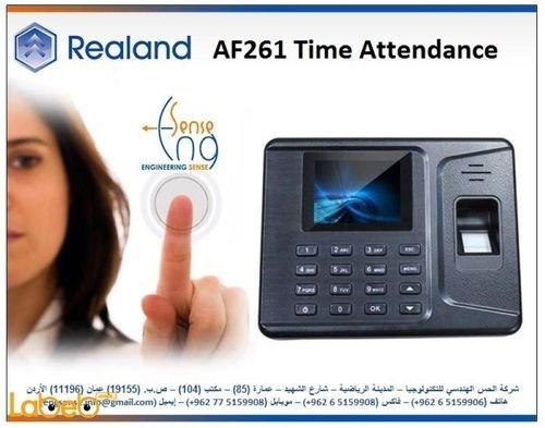 جهاز ريلاند لتسجيل الحضور وبصمة الأصبع ذاكرة 1000 بصمة موديل F261
