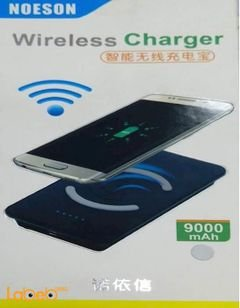 Noeson wireless charger - 9000mAh - black - universal