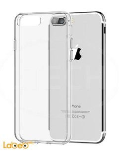Tempered glass and case - for iphone 7 plus - Transparent