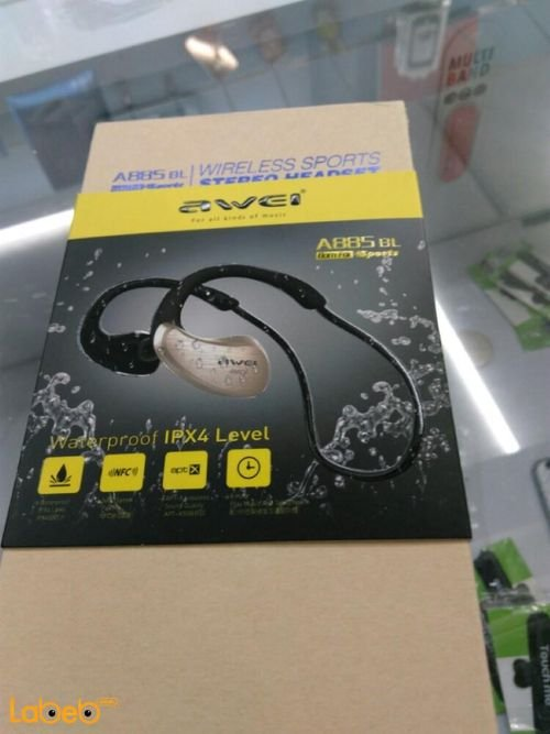 Awei wireless sports stereo headset v4.0 Black A885 BL