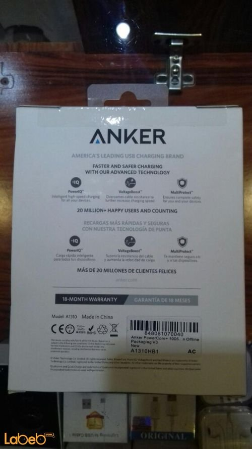 Anker powercore+ Portable charger A1310HB1