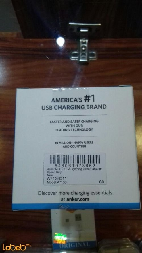 Anker Lightning cable A7136011