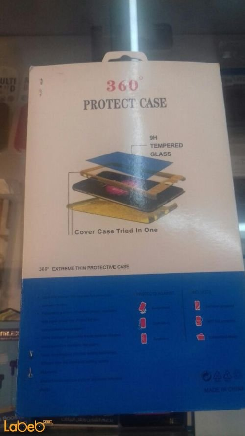 360°c High Quality Protective Case &Glass