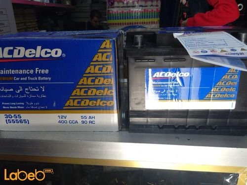 Acdelco premium car and truck battery 55565 12Volt 55ah