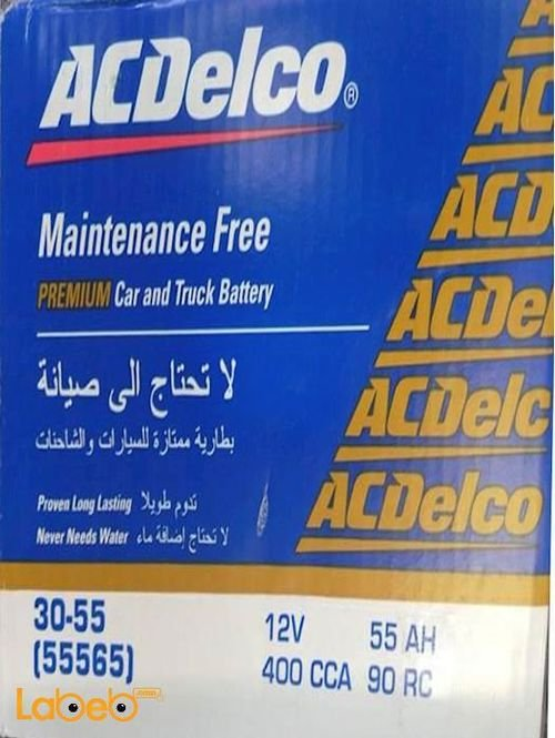 Acdelco premium car and truck battery 12V 55ah 55565