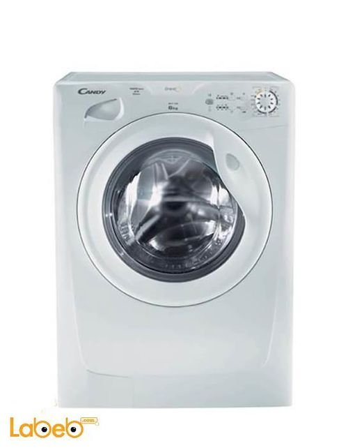 Candy Front Load Washing Machine 6Kg White GO F106/L1-S
