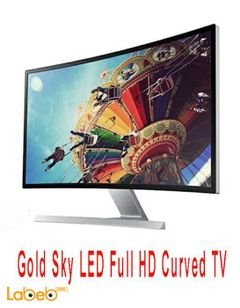 Gold Sky LED Full HD Curved TV - 32inch - Gs32J16s8 model