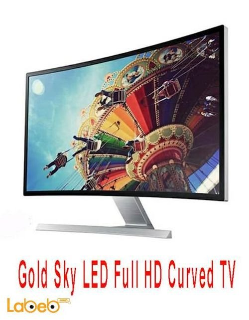 Gold Sky LED Full HD Curved TV 32inch Gs32J16s8 model