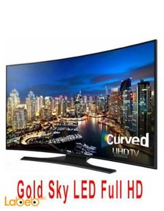 Gold Sky LED Full HD Curved Smart TV - 50 inch - Gs50Js8 model