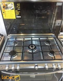 Zanussi Oven - 90 cm - 5 burners - Stainless - ZCG91206