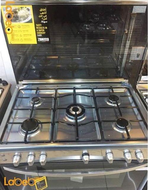 Zanussi Oven 90 cm 5 burners Stainless ZCG91206