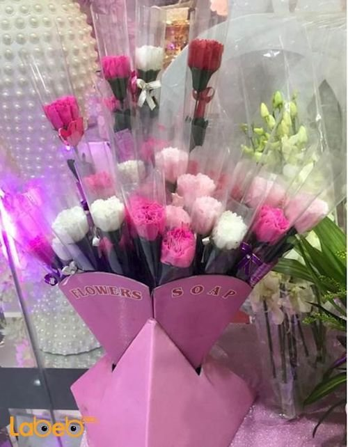 Small carnation flowers Artificial flowers Many colors