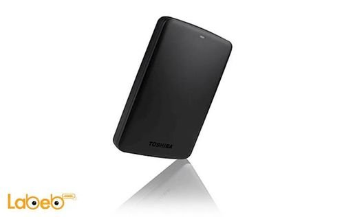 Toshiba USB 3.0 Canvio Basic Hard Drive 500GB Black