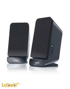 Creative 2.0 Speaker System - 2 channel - black color - A60