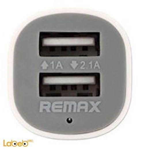 شاحن Remax للسيارة 2 USB الطاقة 12-24 فولت ابيض LSC9188