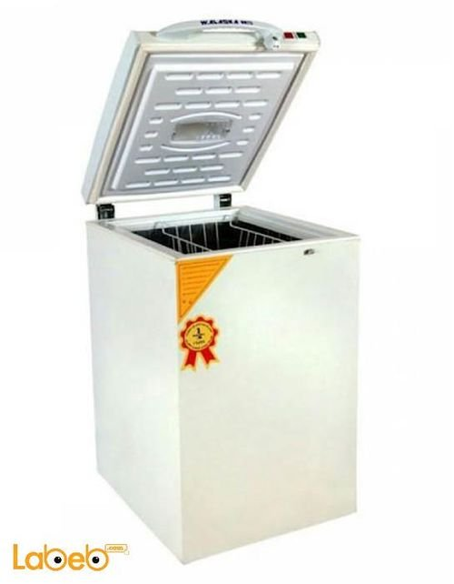 National delux Chest Freezer 100 Litres white NFR100 model