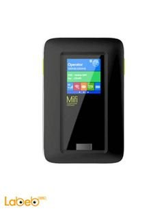 MIFIDATA mibile wifi router - 4G - 5200mAh - Black - LR513A