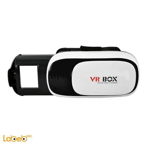 VR BOX 2.0 virtual reality 3D Glasses 3.5-6 inch white