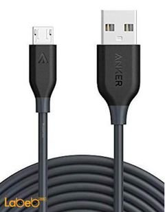 Anker powerline micro USB - 3m - Black - A8134H11 model