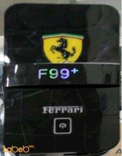شاحن محمول ferrari - سعة 9000mAh - لون اسود - موديل F99+