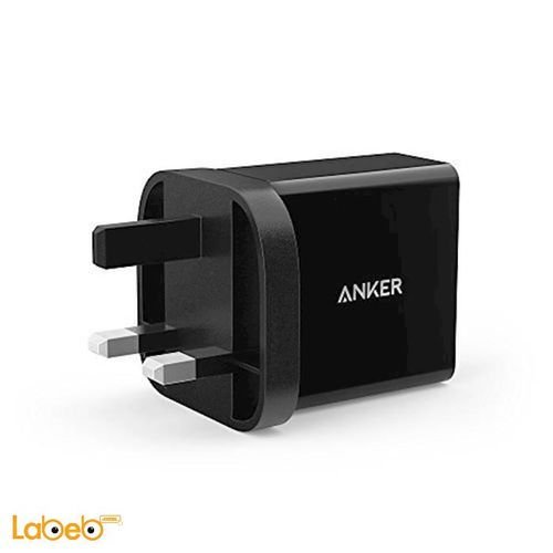 Anker Wall Charger 24W 2 Port USB Black color A2021211