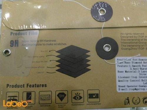 حامي شاشة للموبايل سامسونج J7 برايم 0.18 ملم شفاف