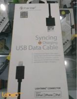 Parmp syncing & charging USB data cable LUDC7839 black