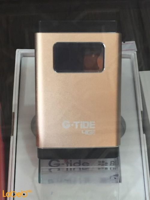 G-tide 4G lte wifi router 100Mbps sim card Gold