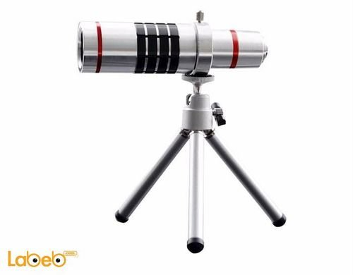 Mobile phone telephoto lens 18x 3m focus distance Universal