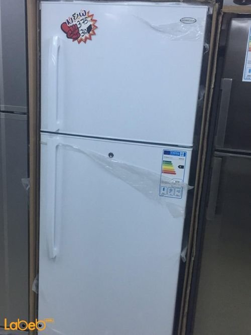 General Deluxe Refrigerator top freezer 21cft white color