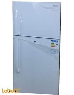 General Deluxe Refrigerator top freezer - 21cft - white color
