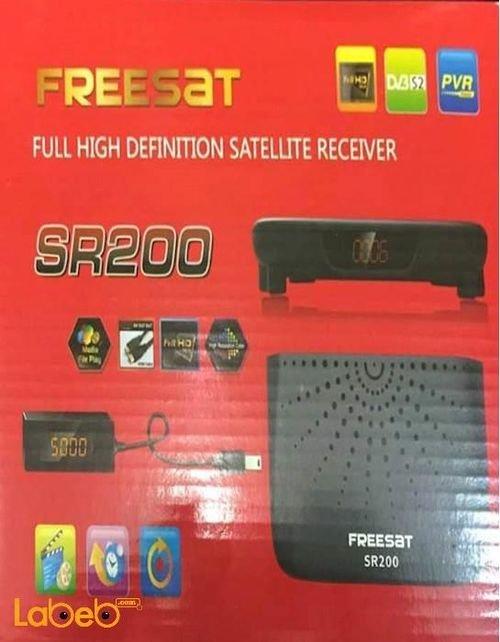 Freesat full HD Satellite Receiver SR200