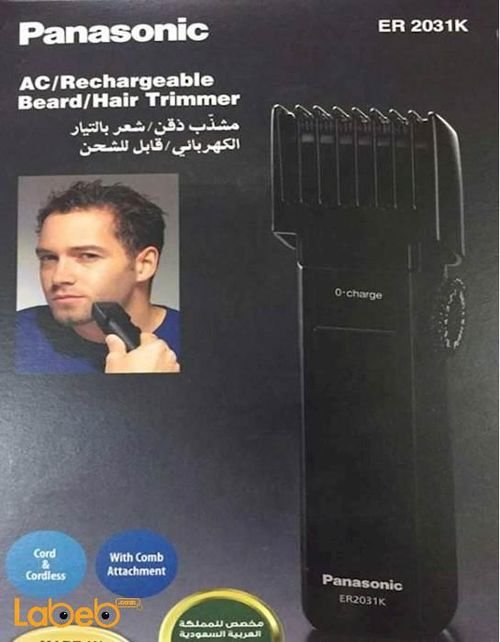 Panasonic ACRechargeable Hair &Beard Trimmer