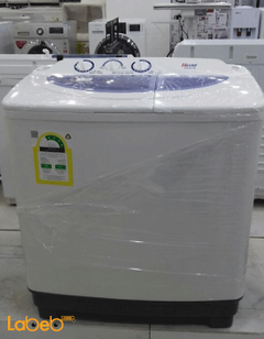 Ugine Twin Tub Washing Machine - 10Kg - White - UGTW10A model