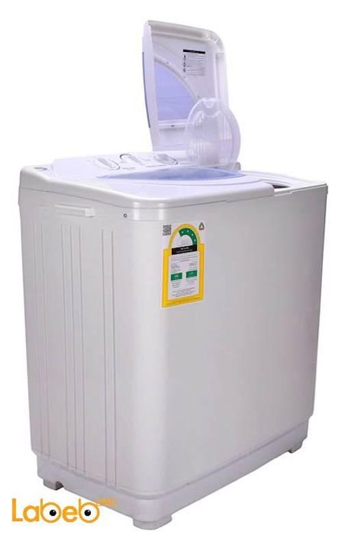 White Ugine Twin Tub Washing Machine 5Kg