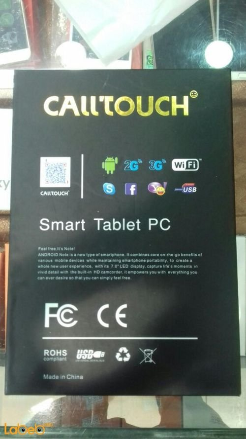 Call touch tablet 4GB 7inch white color C88 model