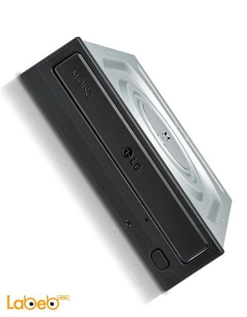 قارئ وناسخ الأقراص ال جي DVDCD يدعم M-DISC أسود GH24NSC0