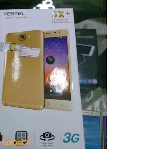 Yestel smartphone 16GB 5inch gold color 5X+