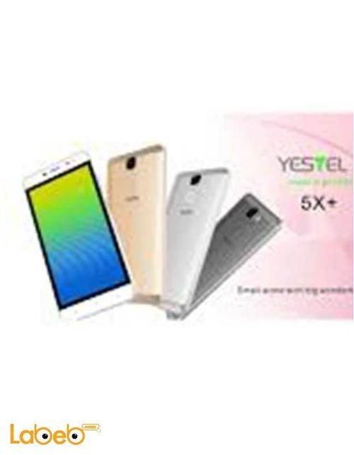 موبايل Yestel - ذاكرة 16 جيجابايت - 5 انش - لون ذهبي - موديل 5X