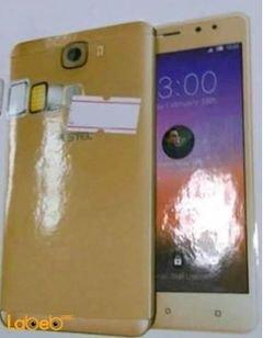موبايل Yestel - ذاكرة 16 جيجابايت - 5 انش - لون ذهبي - موديل 5X+