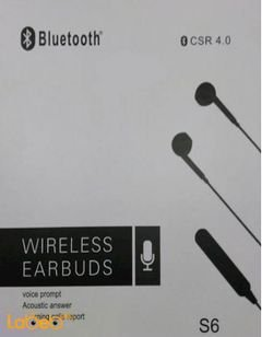 CSR wireless Earpuds - 4.0v - 10 hours talking time - white - S6