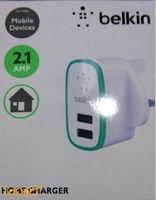 Belkin Universal Home Charger 2.1A 2 USB Black F8J052UKBLK