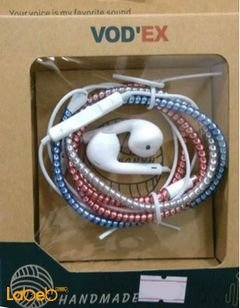 Vod'ex headphones - for all devices - microphone - multi color