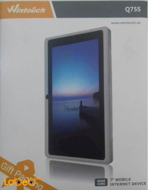 Wintouch tablet WiFi 4GB 7inch Black Q75S model